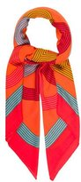 Hermes Circuit 24 Faubourg Cashmere Silk Shawl