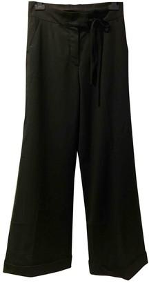 Sonia Rykiel Sonia By Black Wool Trousers