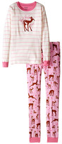 Hatley Soft Deers PJ Set (Toddler/Little Kids/Big Kids)