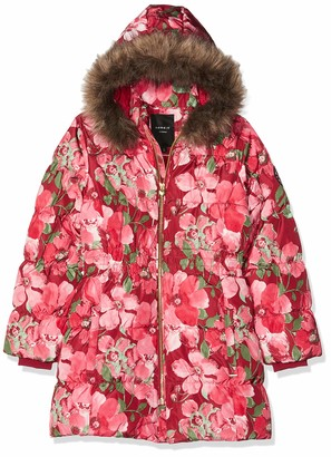 Name It Girl's Nkfmolly Down Jacket AOP Camp