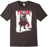 Marvel Thor Paint Splatter Print Graphic T-Shirt