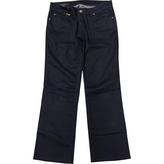 Gucci navy jeans ankle length