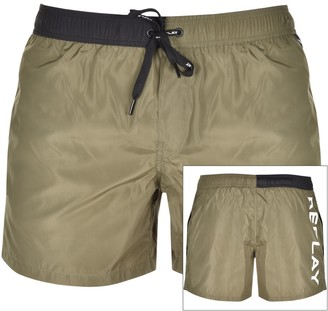 Replay Swim Shorts Green