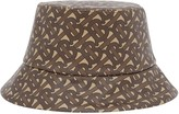 Burberry monogram print bucket hat
