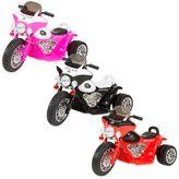 Lil Rider Mini Battery-Operated Three-Wheel Police Chopper