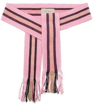 Pippa Woven Cotton Belt - Pink