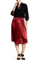 Whyte Eyelash Pleated Skirt