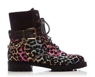 Moda In Pelle Belassy Rainbow Leopard Leopard Pony