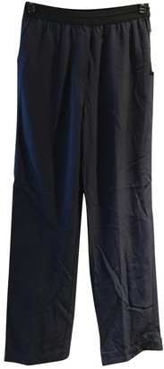 DKNY Navy Trousers for Women