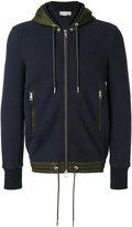 Moncler contrast trim hoodie