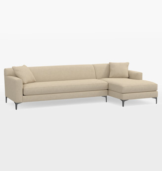 Rejuvenation Hawthorne Sectional Sofa - Chaise Right