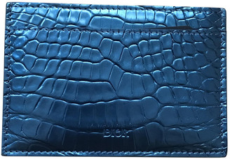 Christian Dior Blue Crocodile Small bags, wallets & cases
