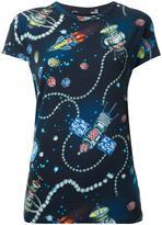 Love Moschino space print T-shirt