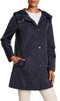 Ellen Tracy Iridescent Packable Raincoat
