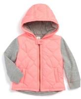 Tucker + Tate Infant Girl's Hooded Nylon Jacket