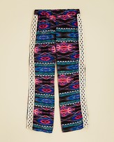 Vintage Havana Girls' Printed Crochet Side Pants - Sizes S-XL