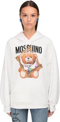 Moschino Oversize Cotton Sweatshirt Hoodie