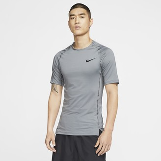 Nike Men's Tight Fit Short-Sleeve Top Pro