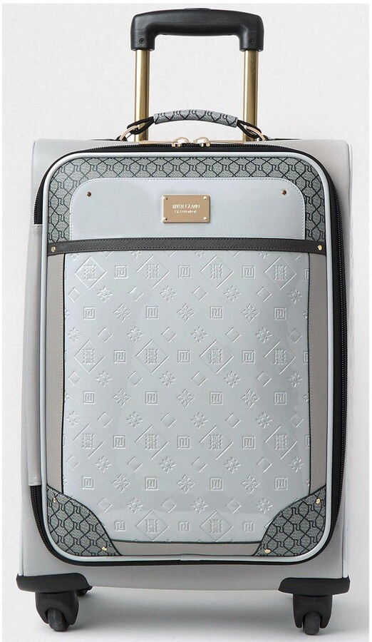 Thumbnail for your product : River Island Patent Embossed Suitcase