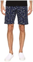 Lacoste Camo Print Bermuda Shorts