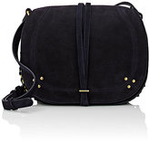 Jerome Dreyfuss Women's Nestor Large Saddle Bag-NAVY