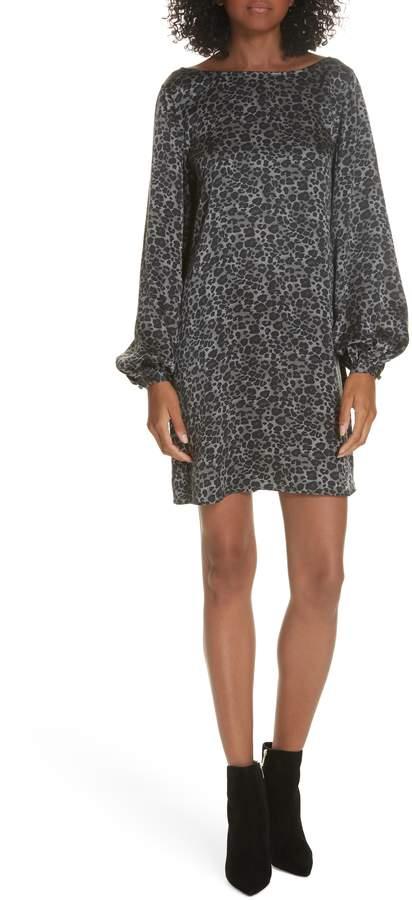 Equipment Zipporah V-Back Silk Shift Dress