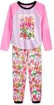 AME Girls' or Little Girls' 2-Pc. Shopkins Pajama Set