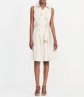 Lauren Ralph Lauren Stretch Cotton Trench Dress