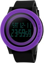 Panegy Students Sport Watch Outdoor Sports Large Dial Watch Alarm Stopwatch Chrono Wrist Watch