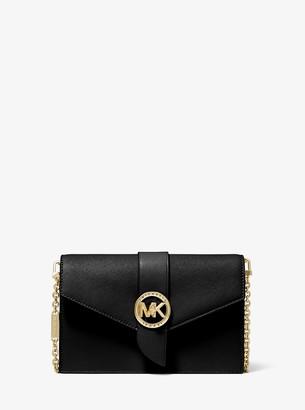 MICHAEL Michael Kors Medium Leather Convertible Crossbody Bag