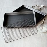 Sur La Table Classic Nonstick Jellyroll Pans and Cooling Grid, Set of 3