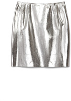 Wes Gordon Preorder Lambskin Straight Skirt