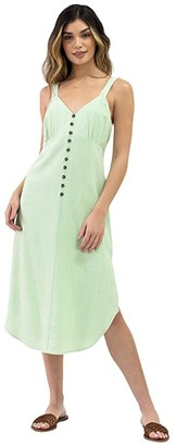 Lost + Wander Garden Girl Midi Dress (Mint) Women's Clothing