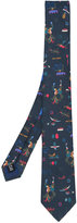 Salvatore Ferragamo printed tie - men - Silk/Cotton - One Size
