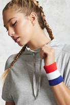 Forever 21 Active Stripe Sweatbands