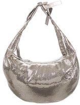 Chloé Metallic Silver-Tone Chainmail Hobo