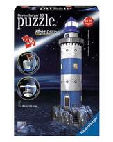 Fashion World Lighthouse Night Edition 3D Puzzle