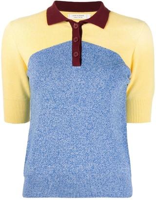 Chinti and Parker Organic-Cotton Polo T-Shirt