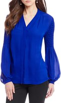 Antonio Melani Roe Button Front Blouse