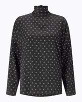 Jigsaw Nordic Crest Funnel Neck Top