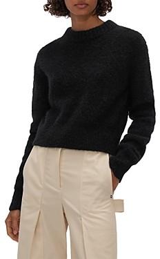 Helmut Lang Shrunken Crewneck Sweater