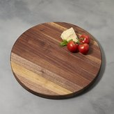 "Crate & Barrel John Boos 18""x1.5"" Edge Grain Walnut Cutting Board"