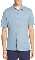 Theory Air Pique Pull-Through Slim Fit Polo Shirt