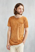 Urban Outfitters Feathers Mineralized Long Scoopneck Tee