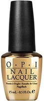 OPI Nail Lacquer - Don't Speak - 18K Gold Top Coat - 15ml / 0.5oz