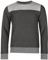 Firetrap Church Crew Sweater Mens