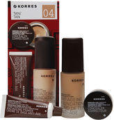 Korres A Flawless Complexion: Quercetin & Oak Essentials, 04 - Tan 1 ea