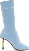 Vetements Blue Stars Lighter Sock Boots