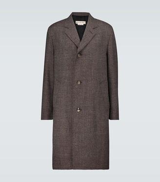 Marni Shetland mouline coat
