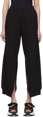 MM6 MAISON MARGIELA Black Split Seam Lounge Pants
